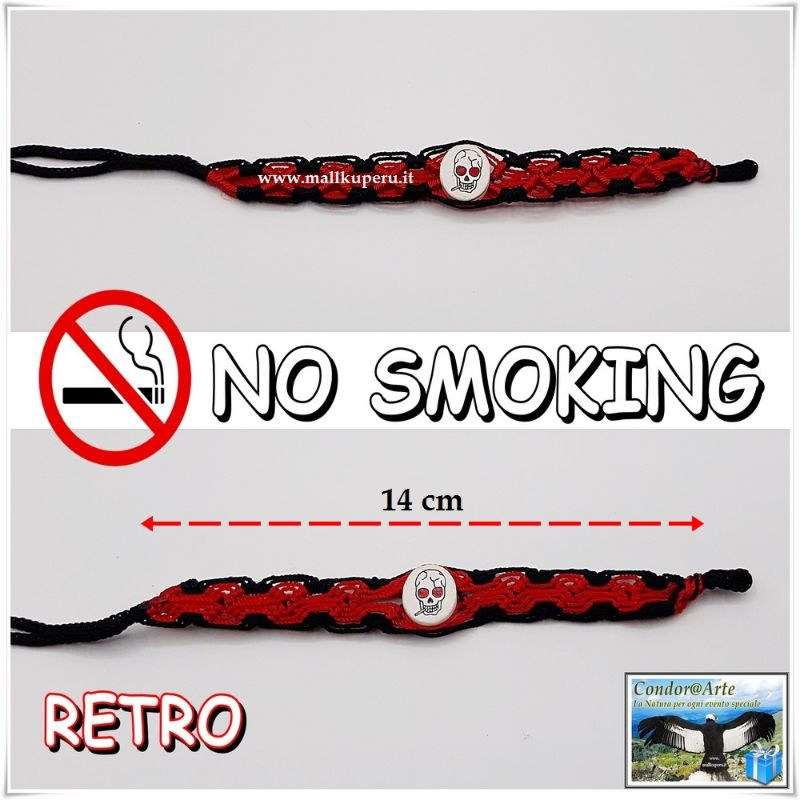 BRACCIALE-DELL'AMICIZIA-*No-Smoking